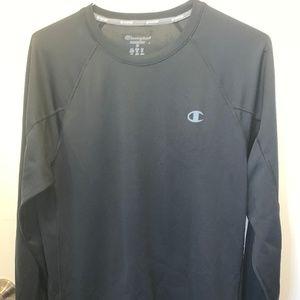Champion Long-Sleeved Black Shirt
